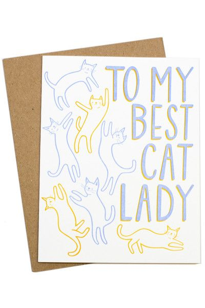 Because I'm all about those cats.