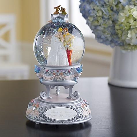 Cinderella Wedding Snowglobe: Disney Store, Wedding Gift, Personalized Wedding, Snow Globes, Cinderella Wedding, Cinderella Snowglobe