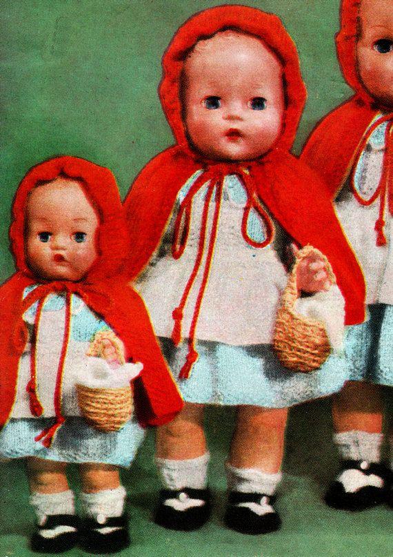 PDF Vintage 1950s BESTWAY B2709 Doll Clothes by TheAtticofKitsch