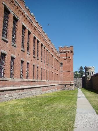 Old montana prison near Butte, Montana. Closed in 1979. Now a museum, they have…