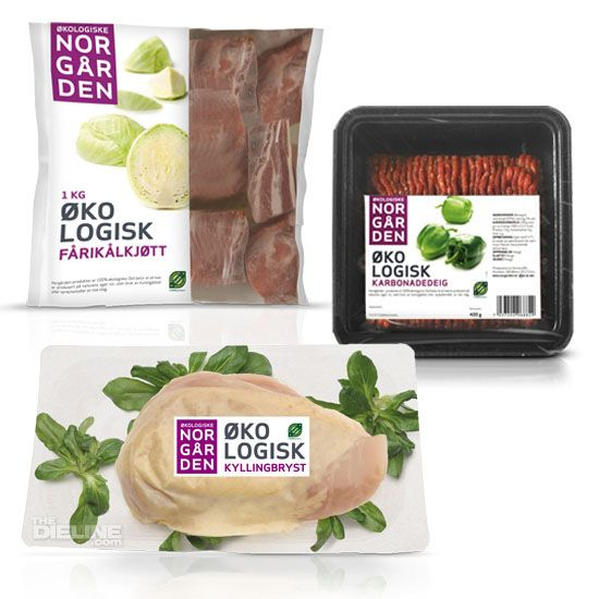"""Økologiske Norgården (Ecological Norgården) is a new  ecological brand from Norways biggest meat and poultry company; Nortura"