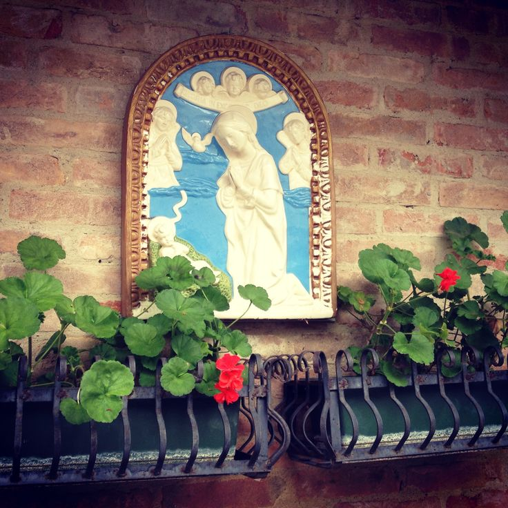 #Mary in the #flowers