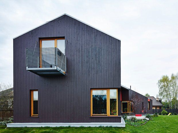 Signle house by MAAS #wood #house