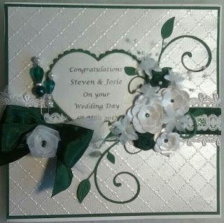 Cotswold Crafter: The Wedding Card