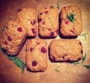 Breakfast     FORKS OVER KNIVES   These are Whole Wheat Cranberry Muffin Loaves!  In the Forks Over Knives cookbook they are m...