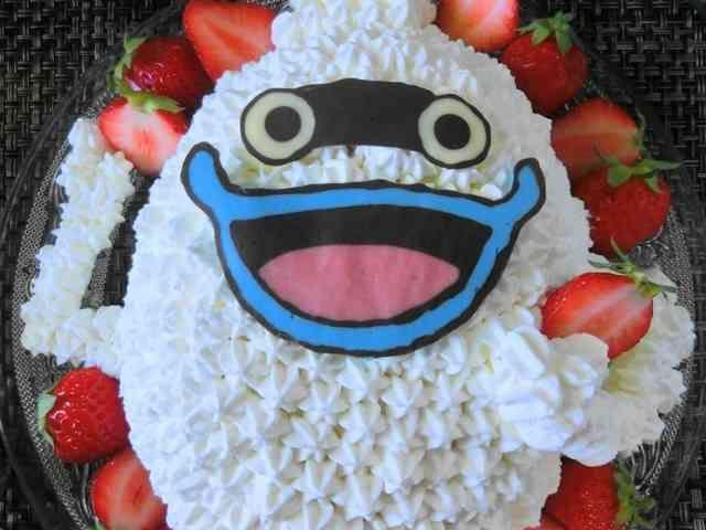 妖怪ウォッチ☆ウィスパーのキャラケーキの画像
