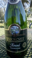 Best champagne I've ever had. Almond Champagne from Wilson Creek Winery in Temecula, CA