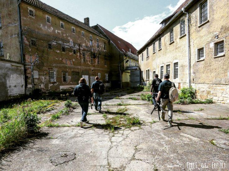 Ein Samstag im Gefängnis - mit Lost Places Erfurt und