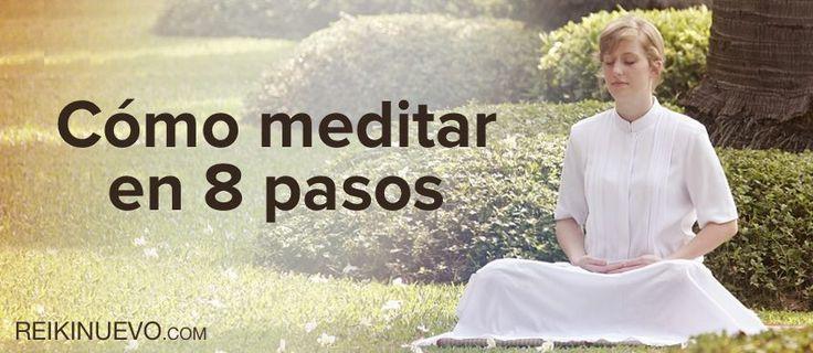 Cómo meditar en 8 pasos http://reikinuevo.com/como-meditar-pasos/