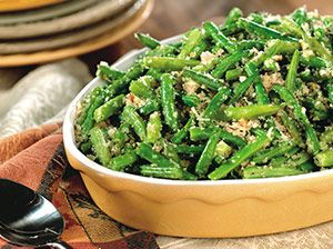 Herbed Green Bean Casserole | RECIPES | Pinterest
