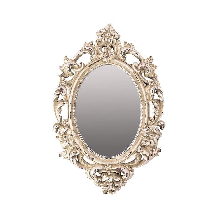 Зеркало в лепной раме из полимерного материала