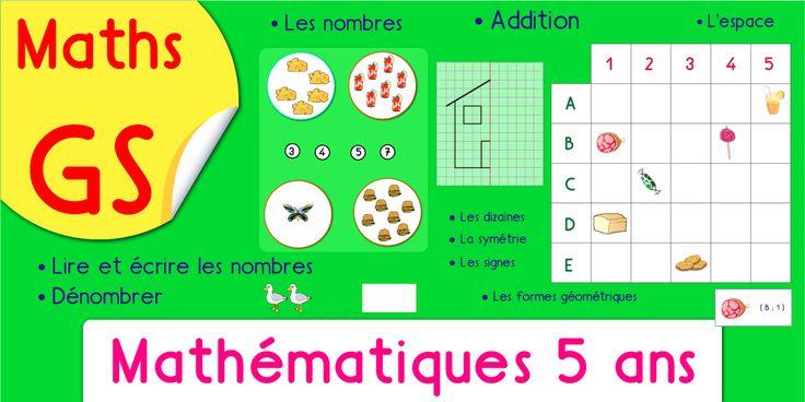 Pdf activit math matique maternelle grande section le - Addition grande section ...
