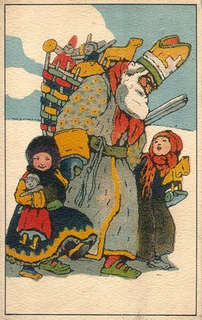 Carte postale vintage par Šnajberk