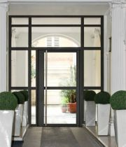 Porte Estura pour hall d'entrée d'immeuble