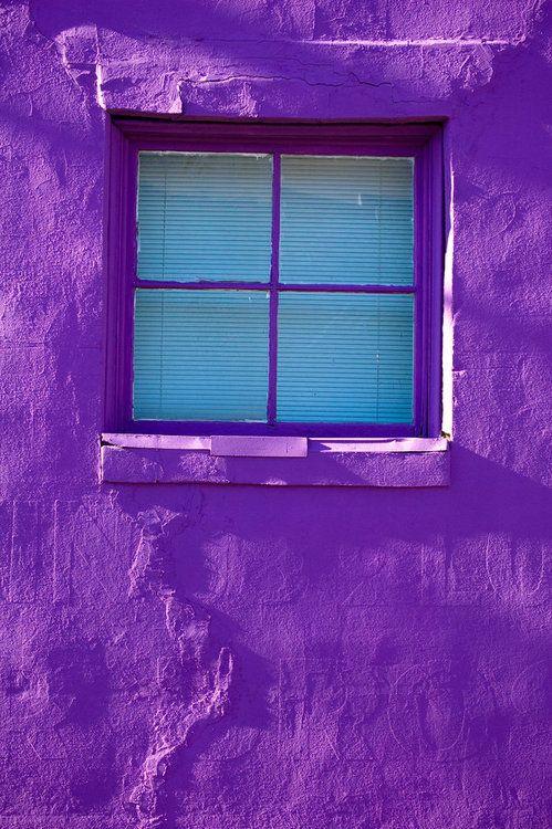 purple outdoor walls