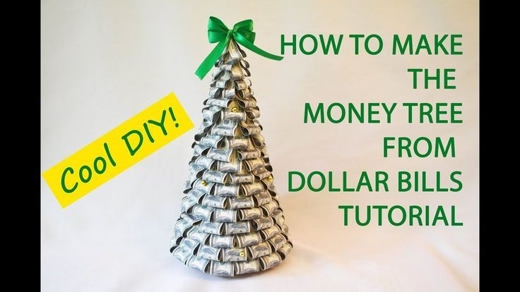 Dollar Christmas Tree Origami tutorial (Jodi Fukumoto) 折り紙 ... | 414x736