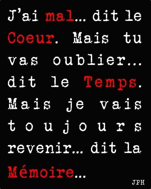 Always remember me !( souvien toi toujours de moi)!