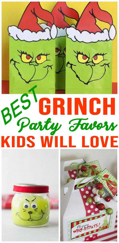 grinch party favors kids