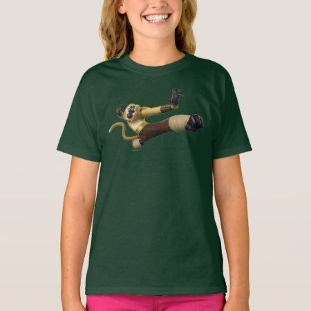 Monkey Fight Pose T-Shirt - click/tap to personalize and buy