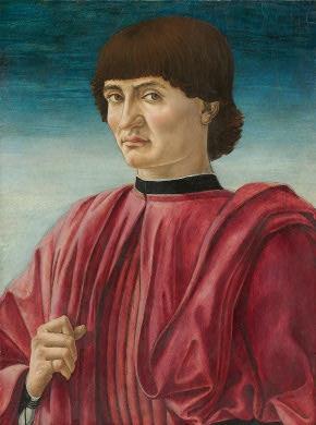 Andrea del Castagno  Portrait of a Man, c. 1450