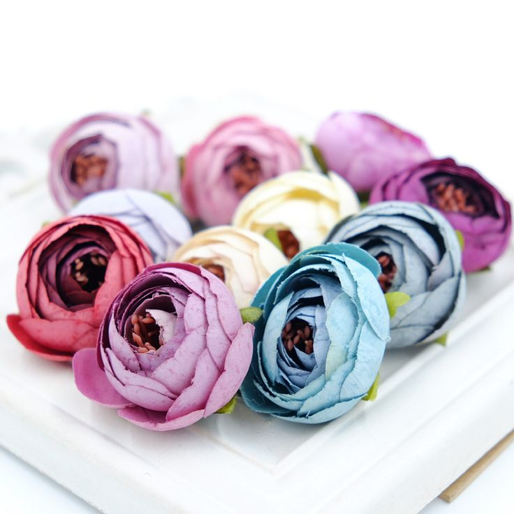 10PCS 3CM Silk Artificial Tea Rose Bud Flowers Head For Wedding Decoration DIY Wreath Gift Box Scrapbooking Craft Fake Flowers-in Decorative Flowers & Wreaths from Home & Garden on Aliexpress.com | Alibaba Group
