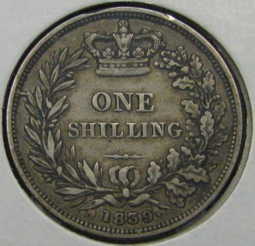 "British Shilling…""Old Money"""