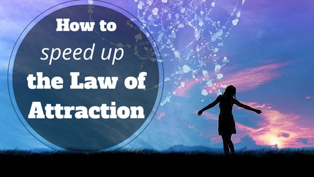 How to speed up #theLawOfAttraction: http://brandonline.michaelkidzinski.ws/how-to-speed-up-the-law-of-attraction-and-attract-health-happiness-and-wealth-faster/ #loa #thesecret