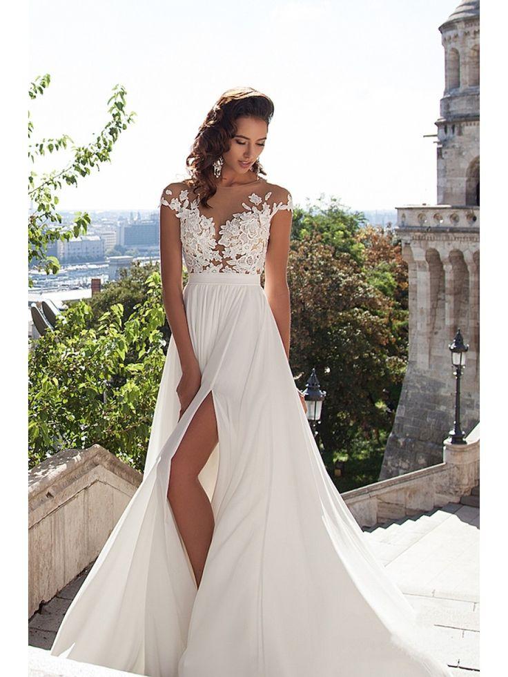 25 best ideas about split wedding dresses on pinterest