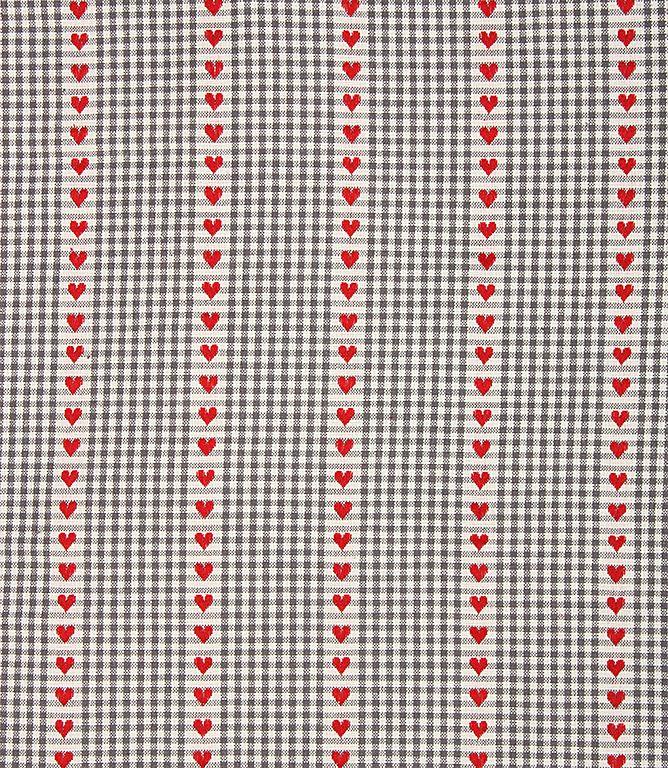 Verbier Rayure Fabric / Blue | Just Fabrics