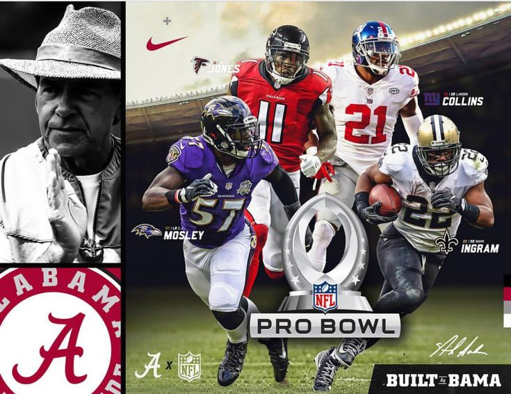 2017 NFL Pro Bowlers That Were Built By Bama! #Alabama