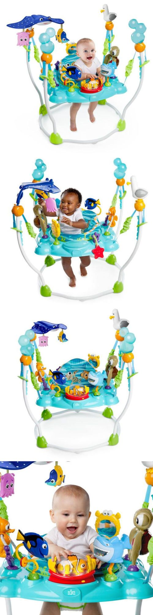 baby and kid stuff: Finding Nemo Sea Baby Bouncer Jumper Disney Seat Toy Infant Activity -> BUY IT NOW ONLY: $145.99 on eBay!