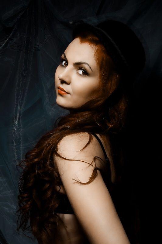 Retro fotografie Veroniky.