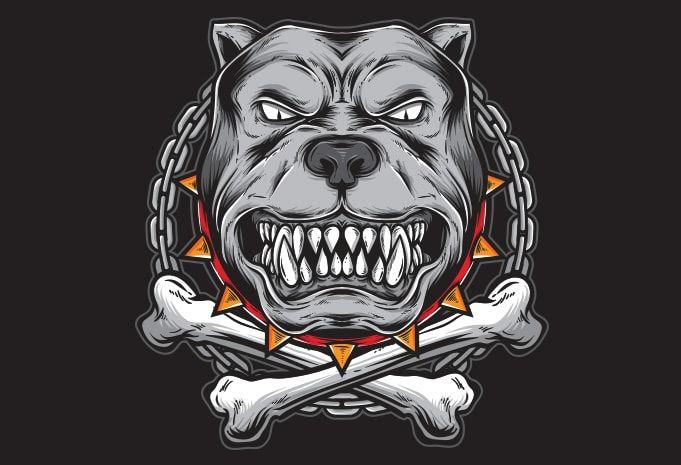 Pitbull Buy T Shirt Design Artwork Pitbull Art Tshirt Designs