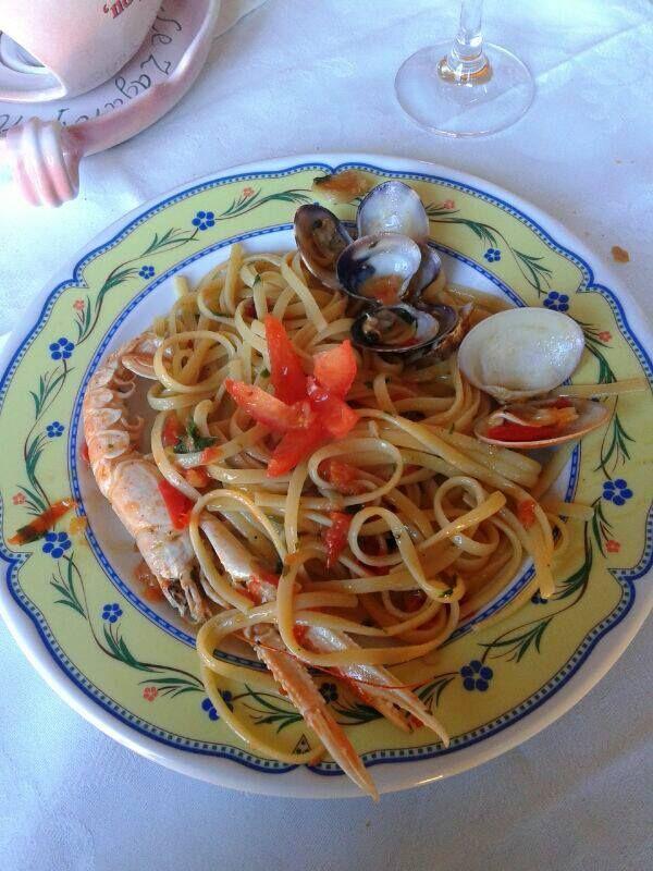 Tagliolini e vongole, taste of the sea #salento #pugliaintavola #weareinpuglia #food #dominasalento #puglia #italy