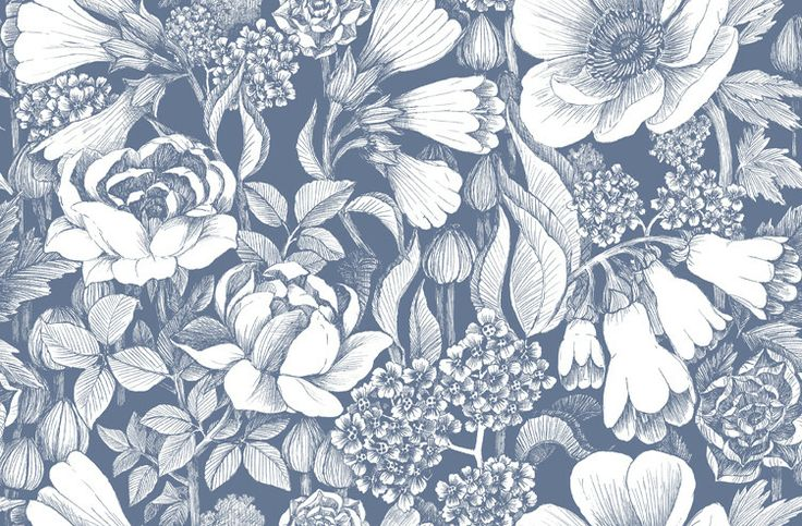 Marimekko Volume 4 Oodi Floral Wallpaper