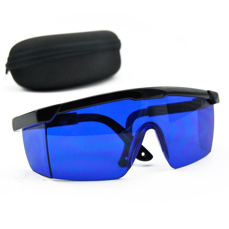 Blue safety glasses 590nm690nm red green yellow laser eye