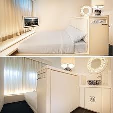 Porcelain Hotel in Singapore. Very compact design.
