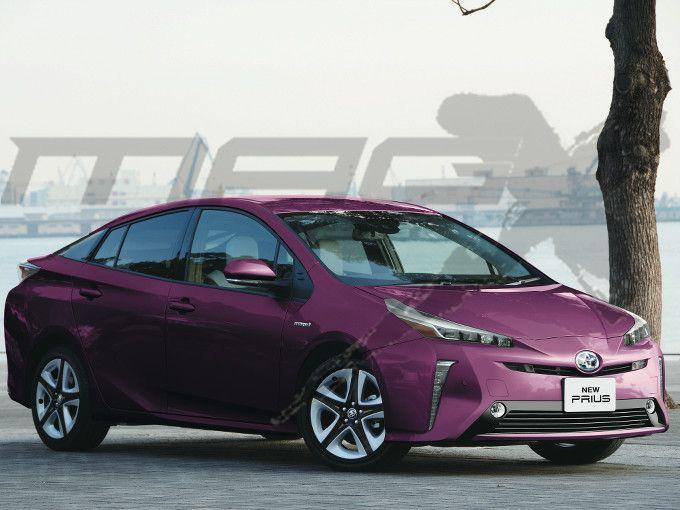 2019 Toyota Prius Facelift To Look Similar To Toyota Prius Phv