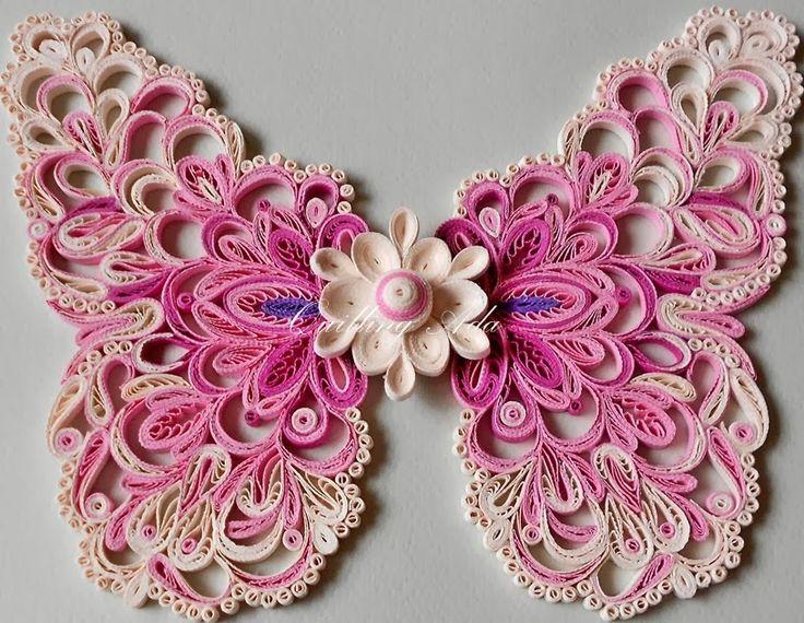 Quilling by Ada: Butterflies