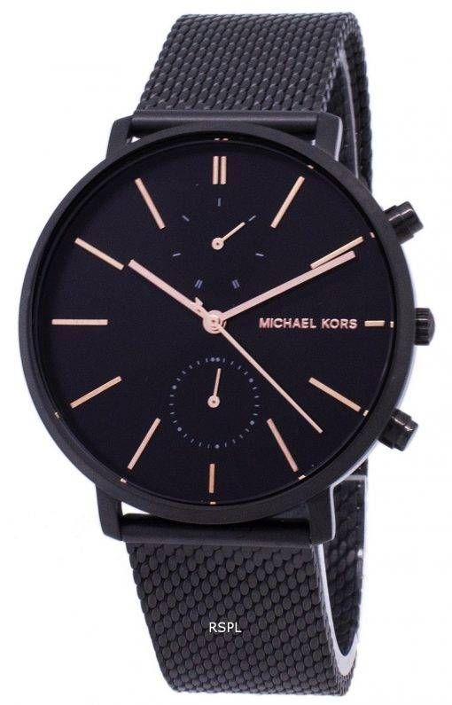 c590a39fe127 ... Michael Kors Mens Watch by CityWatches.ca. Features  Black IP Stainless  Steel Case Black IP Stainless Steel Mesh Bracelet Quartz Movement Mineral