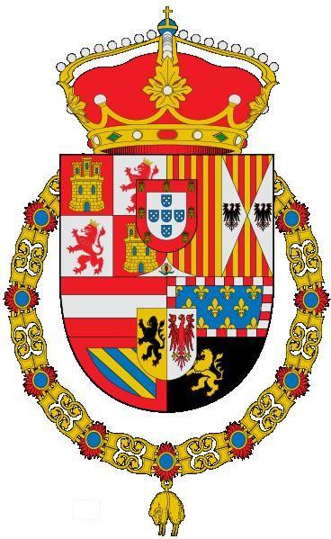 Escudo de armas de los Austrias.
