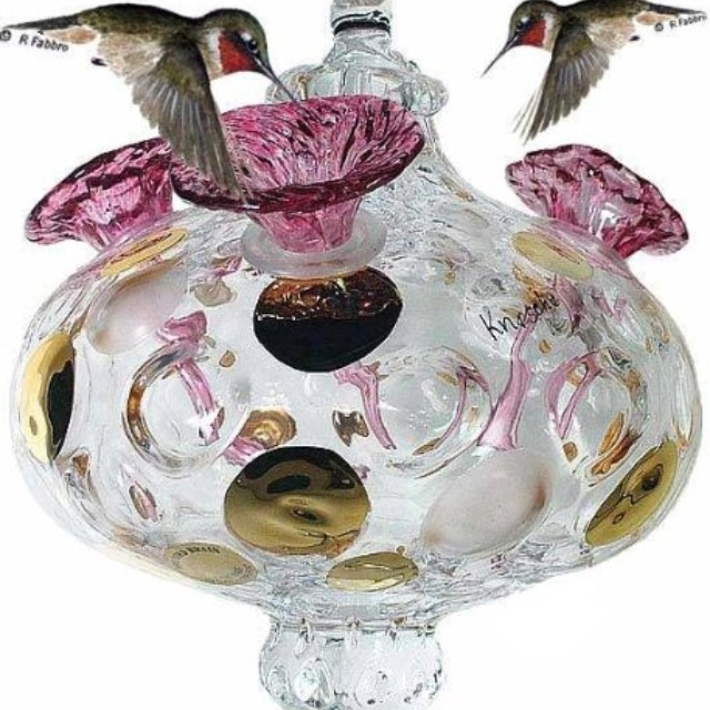 Awesome Hummingbird Feeder....wanted!!!