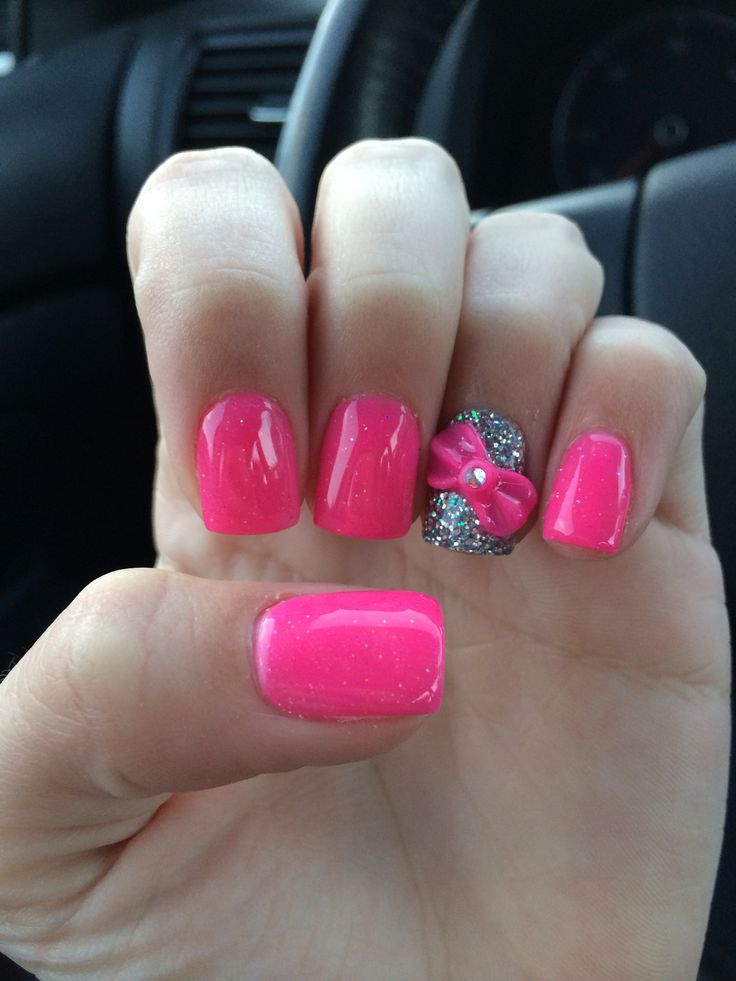 17 best images about nails with bows on pinterest accent