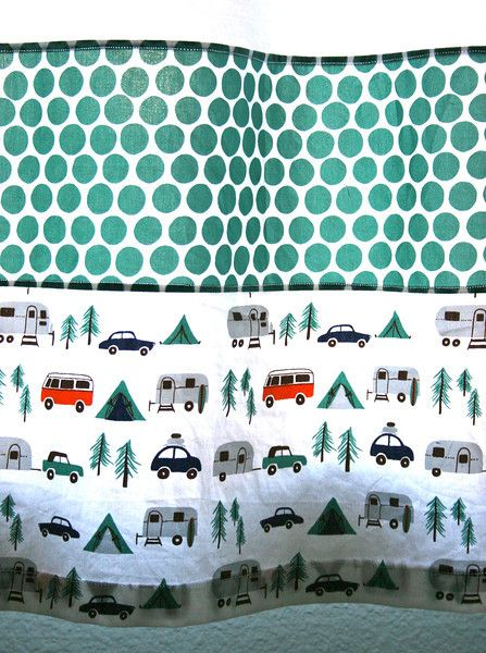 Happy Camper Fabric Patterns Pinterest Bags Boys
