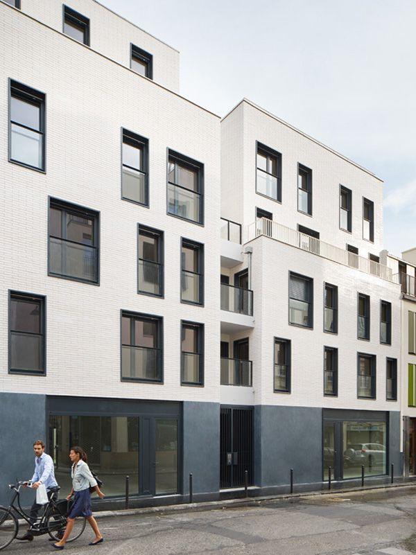 Paris 18 rue Myrha : LLTR Architecture et Urbanisme