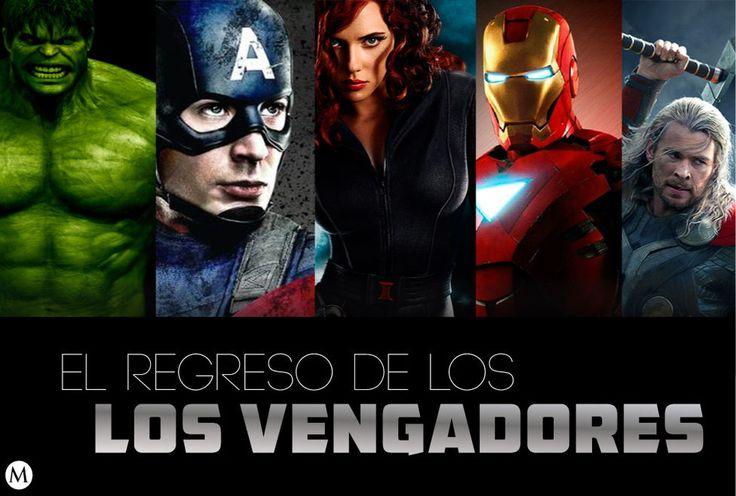 Los Vengadores regresan para destruir a Ultrón - Grupo Milenio