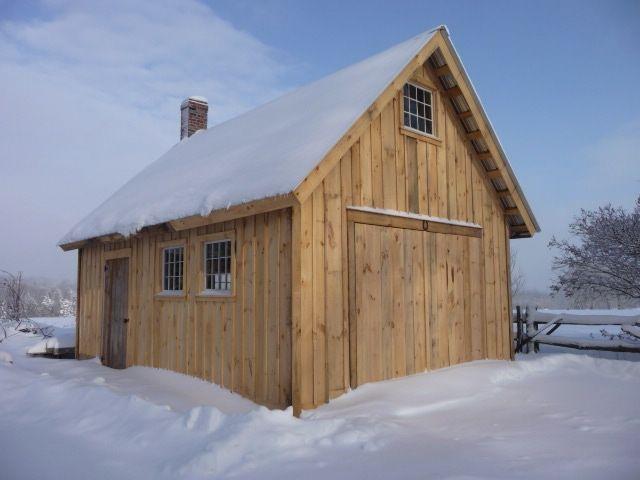 Timber frame shop  Shop in 2019  Blacksmith shop Barn