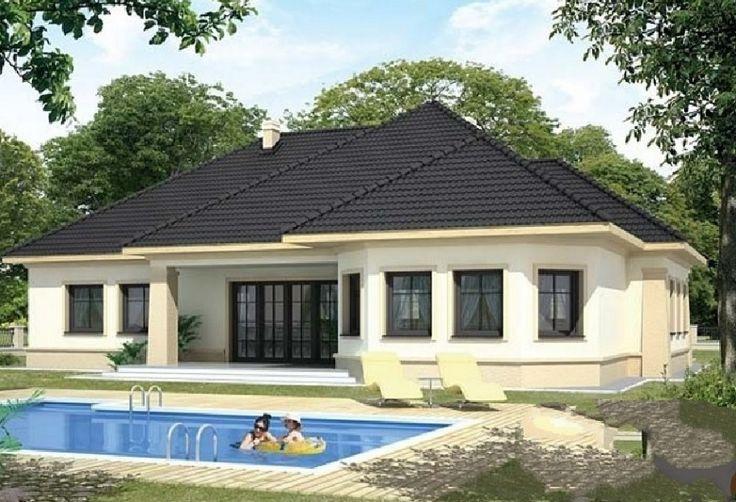 Casa de vis cu piscină si arhitectură modernăin suprafată de197 mp