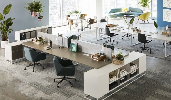 10 Trending Small Office Design Ideas for 2020 | Styles At Life in 2021 | Small  office design, Commercial office design, Office design