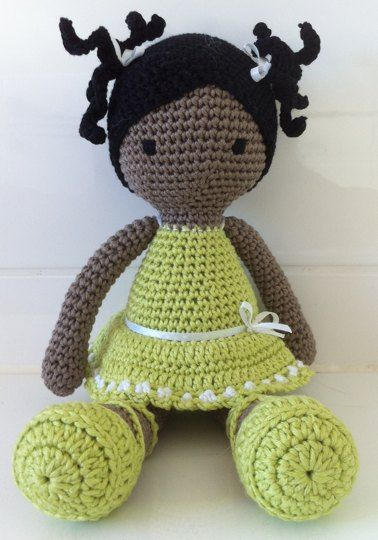 Sweet Crochet Dolls project by Anne S | LoveKnitting